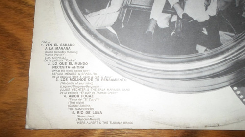 recordando peliculas con musica * disco de vinilo