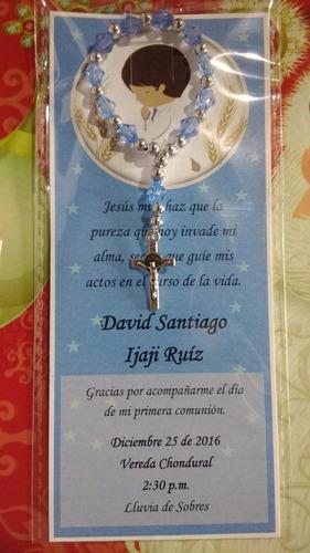 recordatorio denario para bautizo, primera comunión
