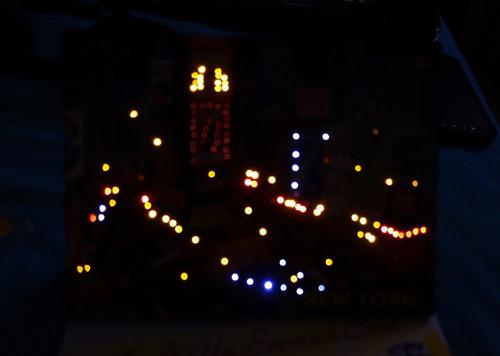 recordatorio new york , nueva york , times square led luces