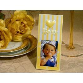 recordatorio portarretrato baby shower bautizo bodas