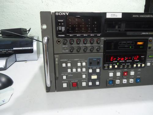 recorder sony dvw-a500 digital edição  ( leia o anuncio )