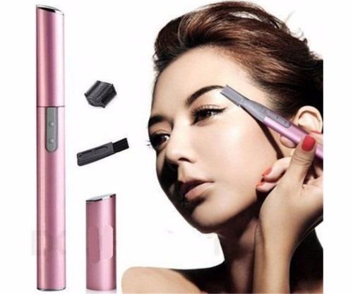 recortador de vello facial para mujer, ceja eléctrica