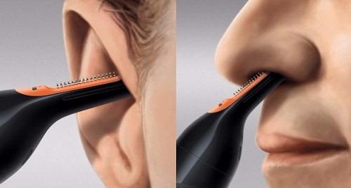 recortador para nariz y orejas philips  nt3160 sin tirones!!