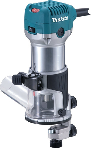 recortadora 710w, 220 c/set base makita rt0700cx3