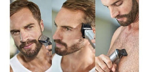 recortadora cabello barba multigroom phillips 23 accesorios