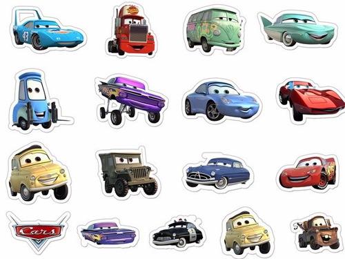 recorte - aplique carros relâmpago mcqueen 10cm(20 recortes)