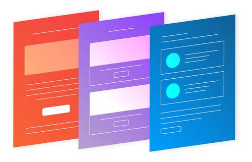 recorte de templates pronto - html, css, js e php