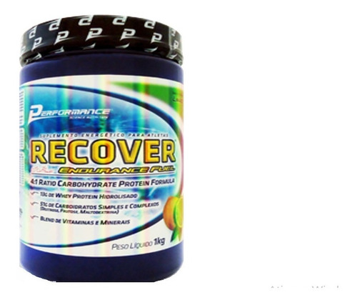recover endurance fuel 1kg - performance