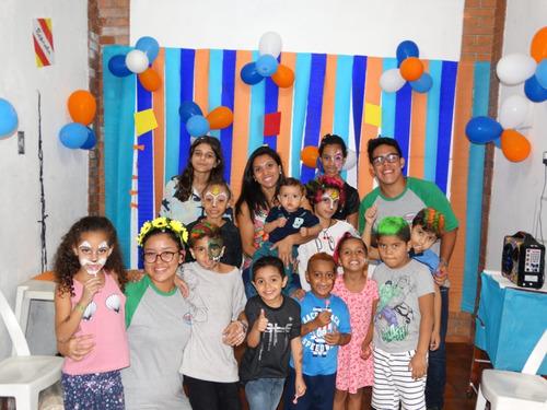 recreação, animação festas infantis, mágica, garçom, copeira