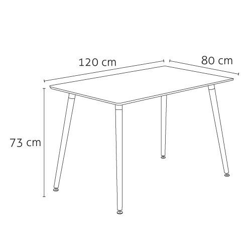rectangular madera mesa comedor