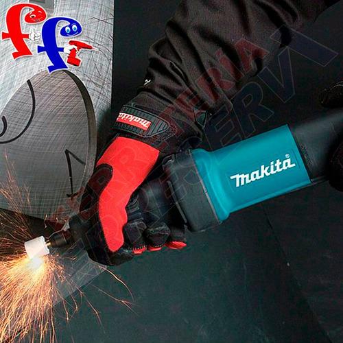 rectificadora esmerilado torno 400w makita gd0601 6mm 1-1/2¨