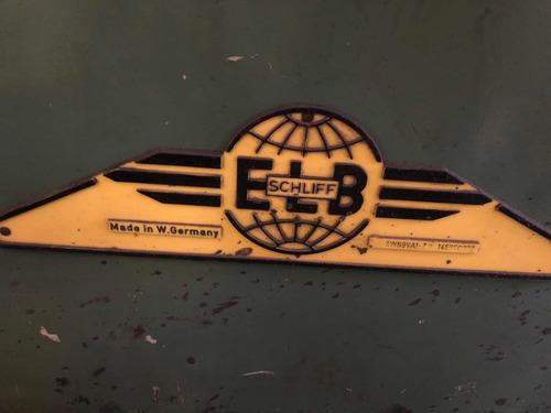rectificadora plana 6 x 38 alemana  elb schliff