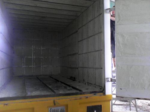 recubrimiento interno para camiones en fibra de vidrio