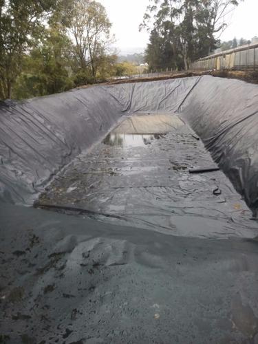 recubrimientos en tierra con geomembrana hdpe-pvc-ppo