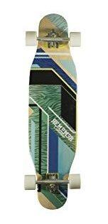 Green//Blue Remember Collective RBD028C Serengeti Longboard Cruiser Complete