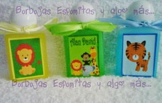 recuerditos gel antibacterial baby shower bautizo