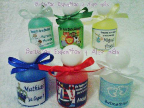 recuerditos gelantibacterial o cremitas + sales cotillon spa