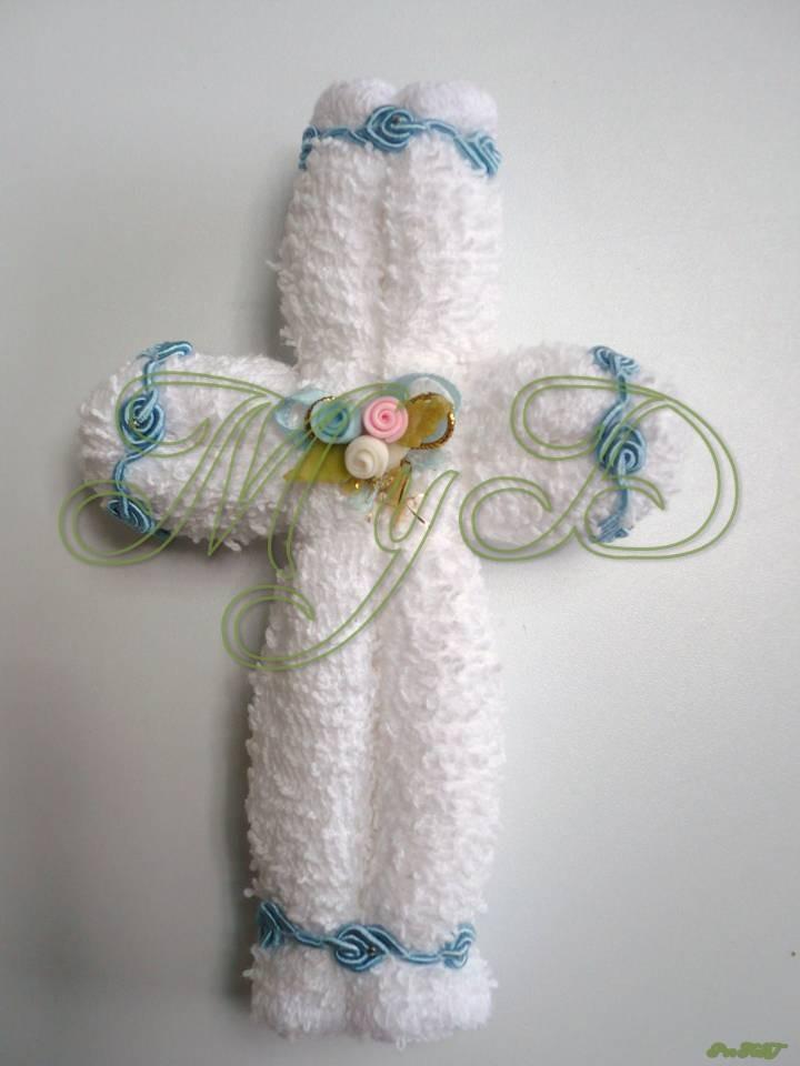 recuerdos de primera comunion con toallitas