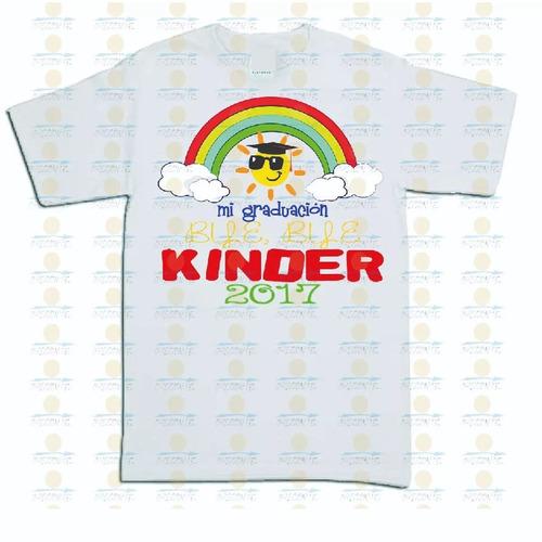 recuerdo de graduacion kinder y primaria playera