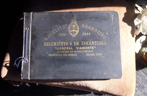 recuerdo de mi vida militar año 1923 reg de infanteria