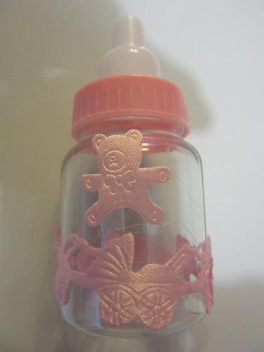 recuerdo decoracion biberones para baby shower bautizo