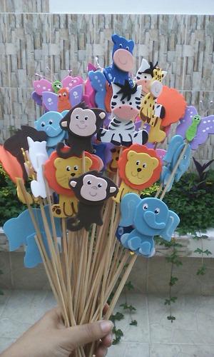 recuerdo fiesta infantil, alcancias safari, zooparty