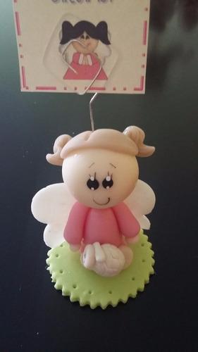 recuerdo portanotas angel bebe baby shower bautizo cumpleaño