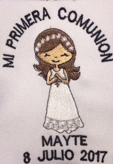 recuerdo toallas bordadas baby bautizo comunion xv años boda