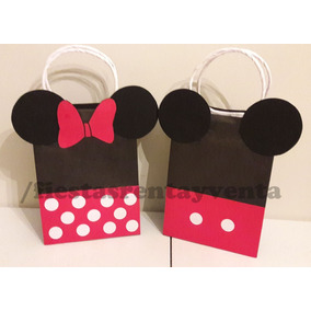 57a3c7619 Bolsitas Minnie Mouse - Recuerdos, Cotillón y Fiestas en Mercado ...
