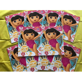 0ac38f991 10 Libro Colorear Dora Exploradora 16 Pág Fiesta Recuerdo