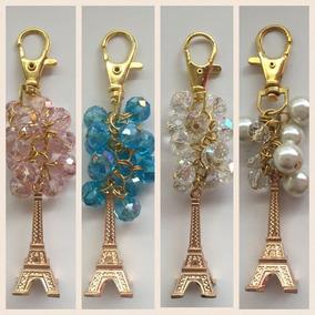 5b0d8c01fca 50 Llavero Colgante Bolsacristal Torre Eiffel 15 Años