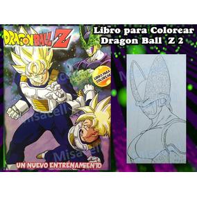 Dibujo De Dragon Ball Z Para Colorear En Mercado Libre México