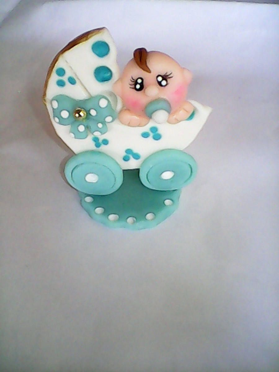 Recuerdos Baby Shower Masa Flexible - Bs. 590,00 en Mercado Libre