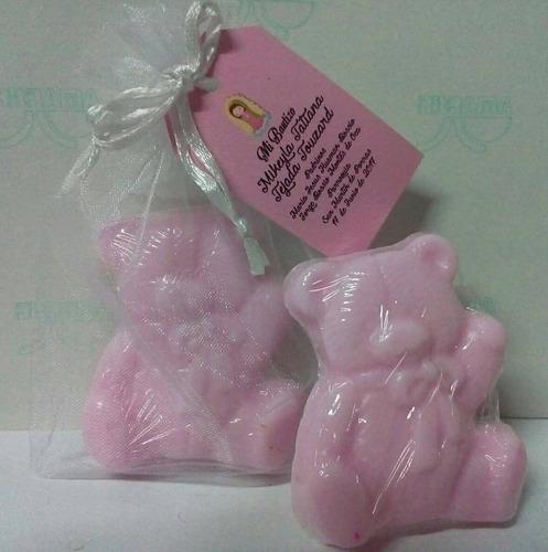 recuerdos baby shower jabón glicerina