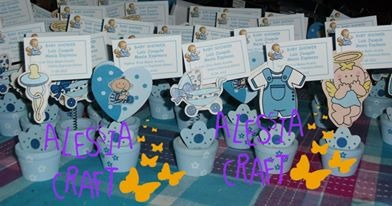 recuerdos baby shower- lindos portanotas