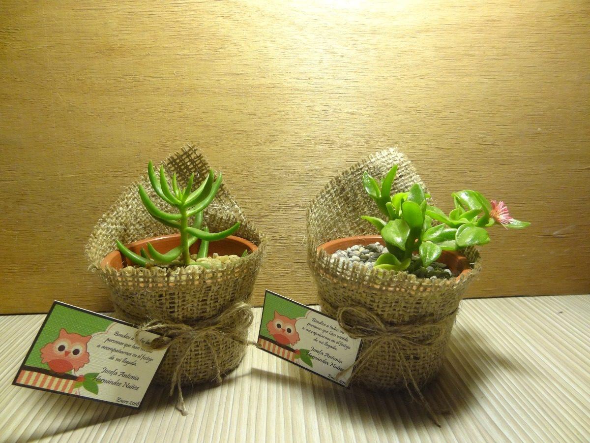Recuerdos De Bautizo Con Cactus.Recuerdos Bautizo Baby Shower Cactus Suculentas Para Regalos