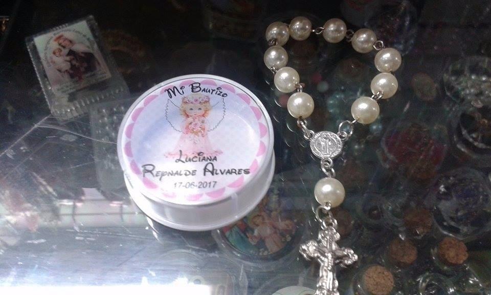 97d7bd560 recuerdos bautizo primera comunion misa denarios rosarios. Cargando zoom.