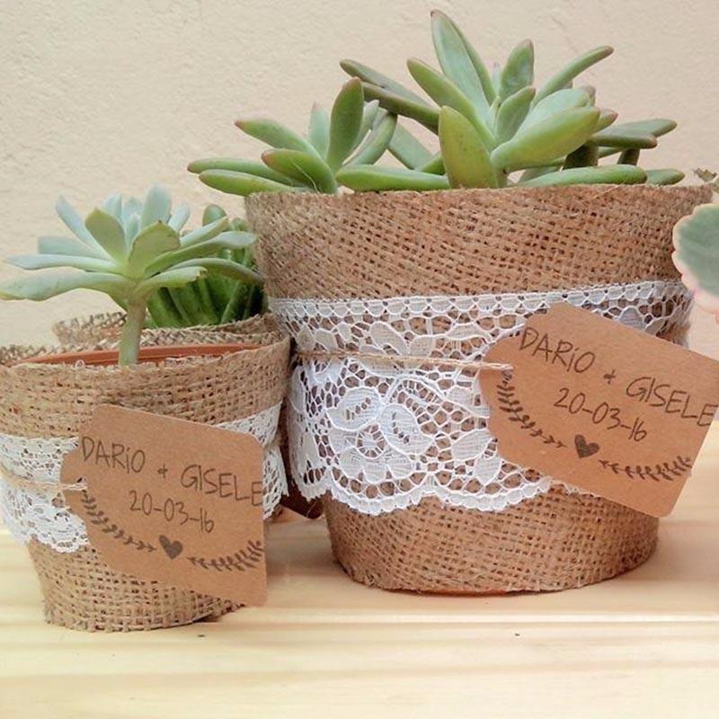 Recuerdos boda bautizo baby shower planta miniatura - Detalles para baby shower ...