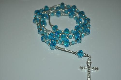recuerdos boda bautizo xv rosario de cristal swarovsky bbf