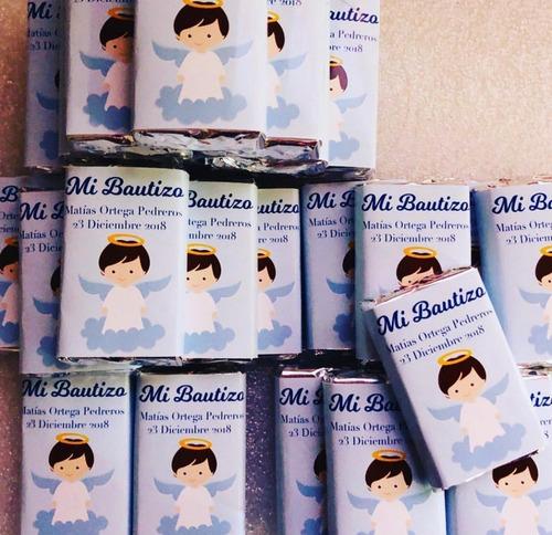 recuerdos chocolates personalizados bautizo primera comunión