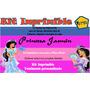 Kit Imprimible Princesa Jasmin,tarjeta, Invitaciones,diseño