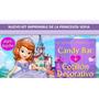 Kit Princesa Sofia Imprimible Cumpleaños Fiestas Cotillones