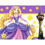 Kit Imprimible Enredados Rapunzel Diseñá Tarjetas Cumples