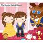 Kit Imprimible Princesa Bella Y La Bestia Imagenes Clipart