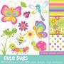 Kit Imprimible Mariposas 3 Imagenes Clipart