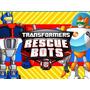 Kit Imprimible Transformers Rescue Bots Diseña Tarjetas Mas