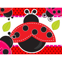 Kit Imprimible Mariquita Vaquita De San Antonio Candy Bar