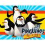 Kit Imprimible Pinguinos De Madagascar Diseñá Cumples Y Mas