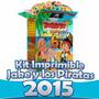 Kit Imprimible Jake Y Los Piratas De Nunca Jamas Nuevo 2015