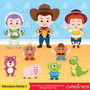 Kit Imprimible Toy Story 3 Imagenes Clipart